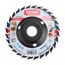 Kotúč pílový a brúsny Extol Premium 125x3x22,2