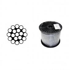 Oceľové lano 2,0 mm /1x19/ DIN3053
